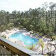 Disney 4th of July Package Deal.  View from above of the enormous pool at the Palisades Resort in Orlando, Florida.