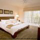 Easter and Spring Break Family vacations at the Palisades resort features fresh clean master bedroom suites at the Palisades Resort in Orlando, Florida.