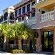Palisades Resort exterior walkway