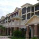 Main Entrance View at the Palisades Resort in Orlando, Florida. Enjoy your Spring Break Affordable Vacation to Orlando.