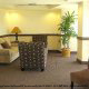 Lobby sitting area, vacation getaway deal at the Palisades Resort in Orlando, Florida.