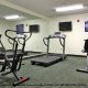 Fitness Room View At Peach Tree Inn And Suites In Savannah, GA.