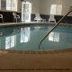 Indoor Pool View At Peach Tree Inn And Suites In Savannah, GA.