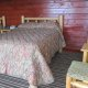 The Days Inn Motel twin room rustic