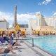 Planet Hollywood Resort and Casino pool closeup