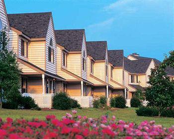 Outdoor View At The Historic Powhatan Plantation Resort In Williamsburg, VA.