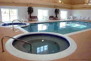 Indoor Pool View At The Historic Powhatan Plantation Resort In Williamsburg, VA.