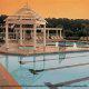 Outdoor Pool View At The Historic Powhatan Plantation Resort In Williamsburg, VA.