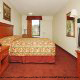 King Size Guest Room View At Quality Inn Parkway In Pigeon Forge TN.