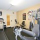 Quality Suites fitness room overview
