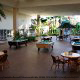 Patio With Pool Tables At Ramada Gateway Hotel in Orlando/Kissimmee, Florida.
