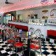 Deli Restaurant View At Ramada Gateway Hotel in Orlando/Kissimmee, Florida.