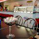 Restaurant View At Ramada Gateway Hotel in Orlando/Kissimmee, Florida.