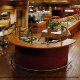 Salad Bar View At Ramada Gateway Hotel in Orlando/Kissimmee, Florida.