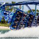 The Manta roller coaster is a top attraction while on vacation to Seaworld in Orlando, Florida.