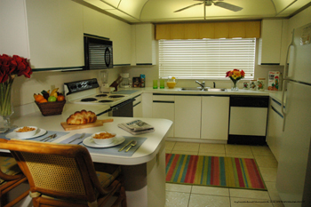 Fully Furnished Kitchen At Silver Lake Resort Orlando, Florida. Take Care  Of Your Family