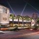 SLS Las Vegas Casino Resort entrance