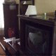 Guest Room with TV Set at Hampton Inn Historic District in St. Augustine, Florida.
