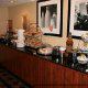 Breakfast Area view at Hampton Inn Historic District in St. Augustine, Florida. Enjoy healthy choices for breakfast while on your Summer Family Vacation.
