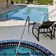 Hot Tub and Pool view at the Best Western Historical Inn in St. Augustine, Florida. Take a pick and plunge in the water while on your 4th of July Discount Getaway Special.
