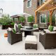 Outdoor Restaurant View At Staybridge Suites Stone Oak In San Antonio, TX.