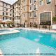 Outdoor Pool View At Staybridge Suites Stone Oak In San Antonio, TX.