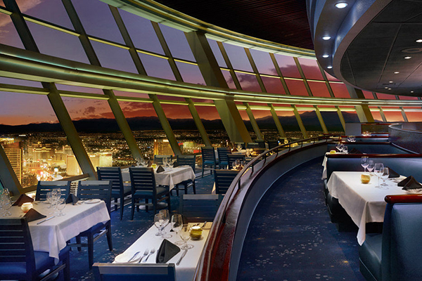 Stratosphere Tower dining