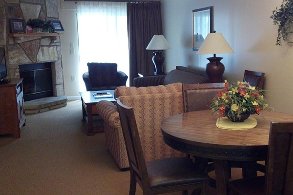 Summer Bay Town Square Resort living area