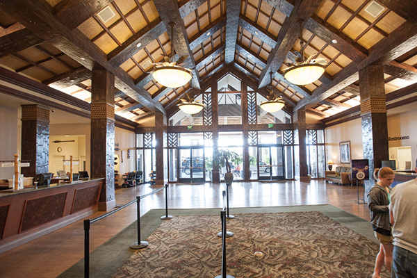 Tahiti Village Resort and Spa entrance