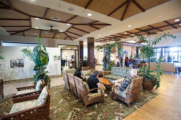 Tahiti Village Resort and Spa lobby