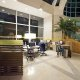 The Sheraton Hotel business center