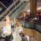 The Sheraton Hotel lobby balcony