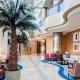 The Sheraton Hotel lobby