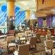 The Sheraton Hotel restaurant