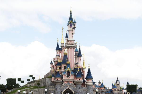 Disneyland Paris.The magic castle.