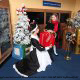 Christmas celebration on the bridge at the Titanic Museum in Pigeon Forge, Tennessee