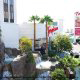 Outdoors at the Tropicana Hotel and Casino in Las Vegas, NV.