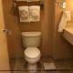 Clean Bathroom at the Crowne Plaza Hotel Orlando - Universal at Orlando, Florida.