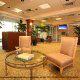 Waiting Area in the Lobby at Crowne Plaza Hotel Orlando - Universal at Orlando, Florida.