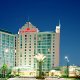 Exterior View of Crowne Plaza Hotel Orlando - Universal at Orlando, Florida.