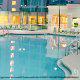 Outdoor Pool View of Crowne Plaza Hotel Orlando - Universal at Orlando, Florida. Spring Break Vacation Perfect Destination!