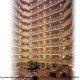 Mezzanine View of Crowne Plaza Hotel Orlando - Universal at Orlando, Florida.
