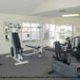 Indoor fitness center at The Florida Vacation Villas.