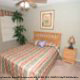 Nicely decorated double bed bedroom at The Florida Vacation Villas.