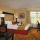 Welk Resort king room couch