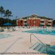 Hot Tub, children s pool and grand pool at the Wild Wing Resort in Myrtle Beach South Carolina.