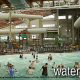 Indoor pools and water park at the Wilderness Stone Hill Lodge in Pigeon Forge Tennessee.