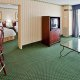 Fort Magruder Hotel & Conference Center suite TV