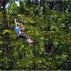 Cabin rental packages can include tickets to zipline adventures in Pigeon Forge Tennessee.