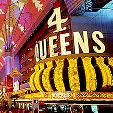 Las Vegas Thanksgiving Family Vacation Four Queens Hotel And